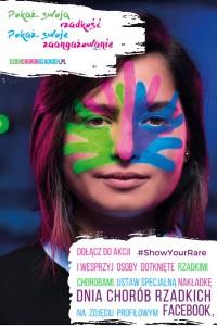 Plakat promujący tegoroczny Dzień Chorób Rzadkich